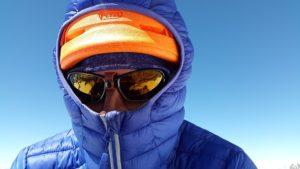 Skifahrer Sonne