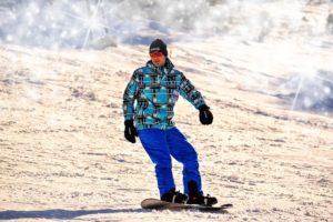 Snowboard Balance Mann!